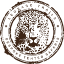 Logo in Leopard Trails